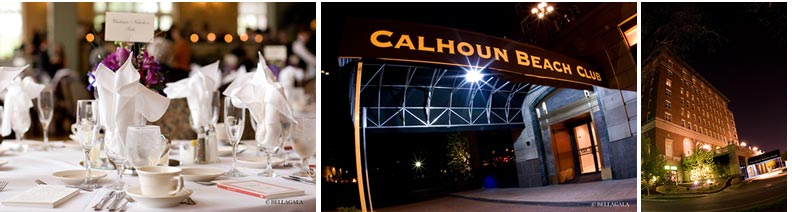 Calhoun Beach Club. | wedding site