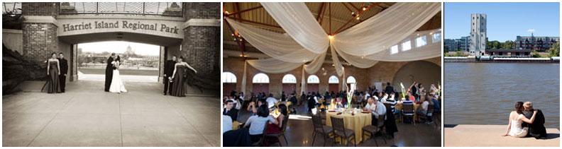 Harriet Island Pavilion | wedding site