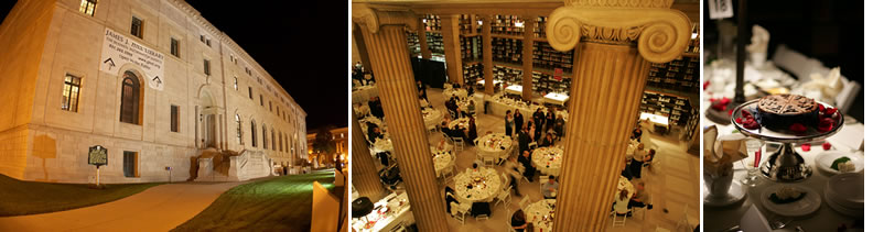 James J. Hill Library | wedding site