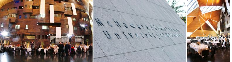 McNamara Alumni Center. | wedding site